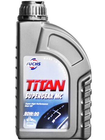 FUCHS TITAN SUPERGEAR MC 80W-90 -