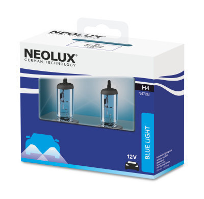 КРУШКИ H4 NEOLUX BLUE LIGHT
