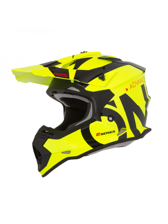 ДЕТСКА КАСКА O'NEAL 2SERIES RL SLICK NEON YELLOW/BLACK