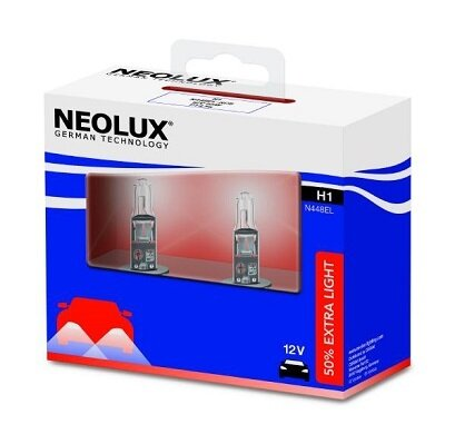КРУШКИ H1 NEOLUX EXTRA LIGHT +50%