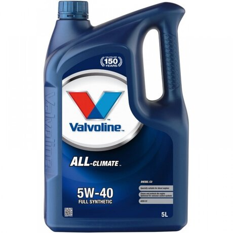 VALVOLINE ALL CLIMATE 5W40 C3 5L