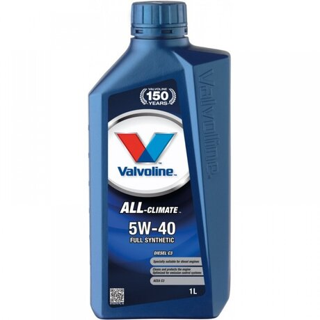 VALVOLINE ALL CLIMATE 5W40 C3 1L